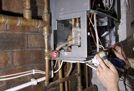 Установка газового оборудования